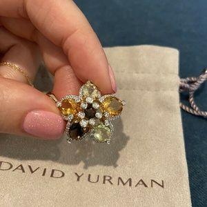 Le Vian LeVian Gold Diamond Topaz Citrine Pendant